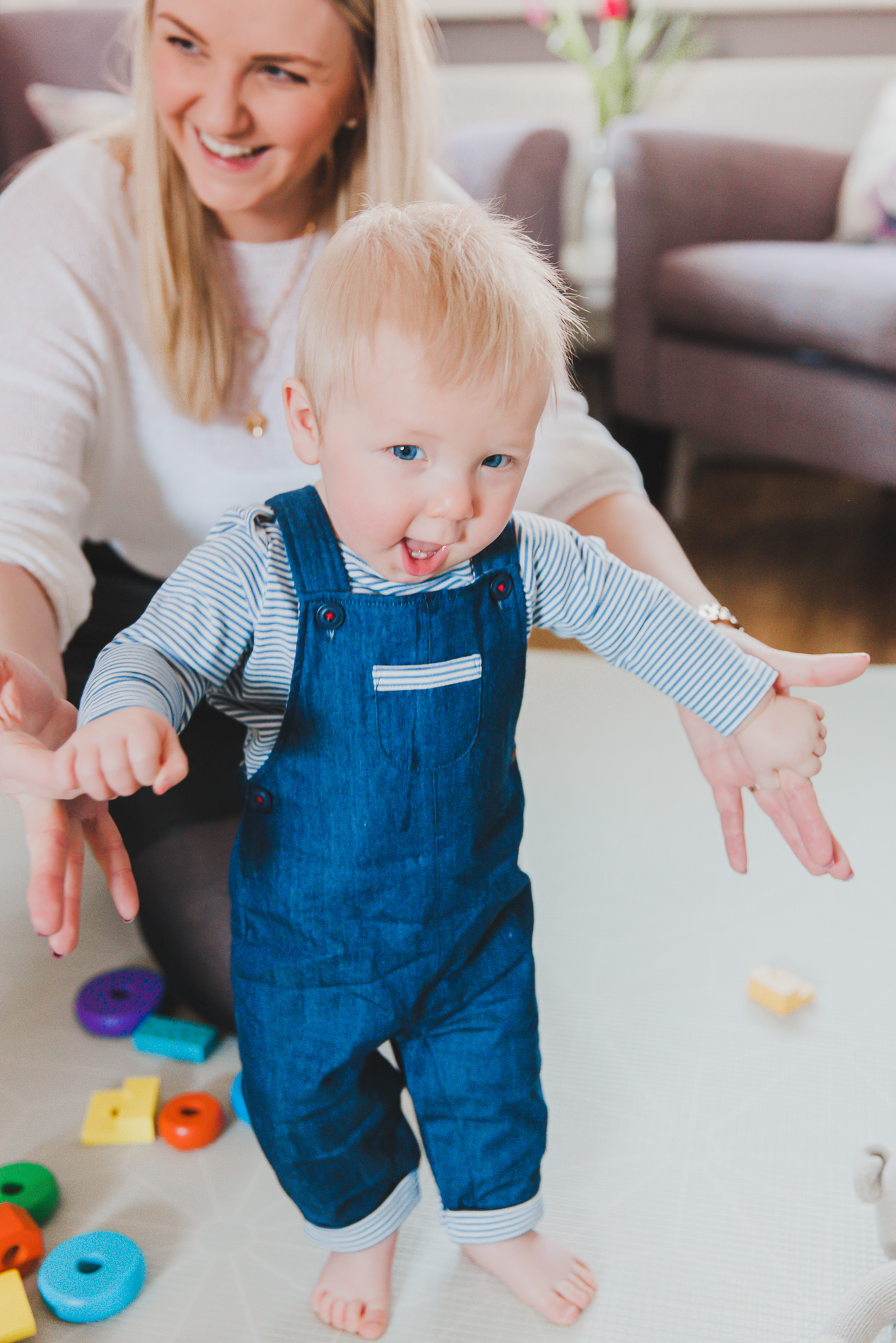 Will I miss his first steps?!