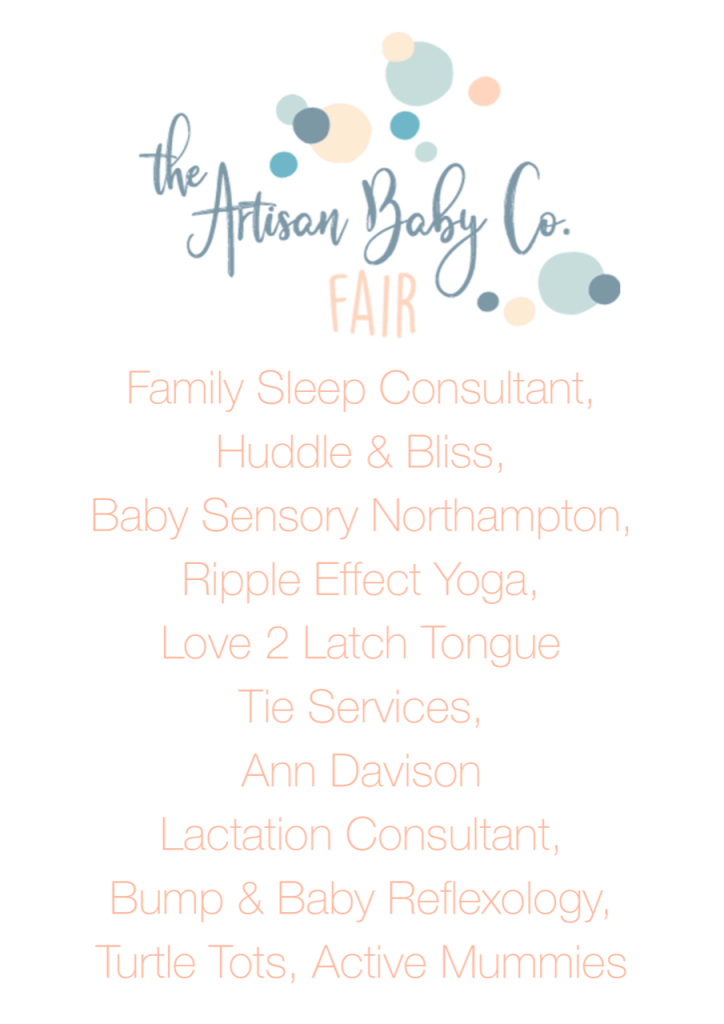 Services at The Artisan Baby Co Fair