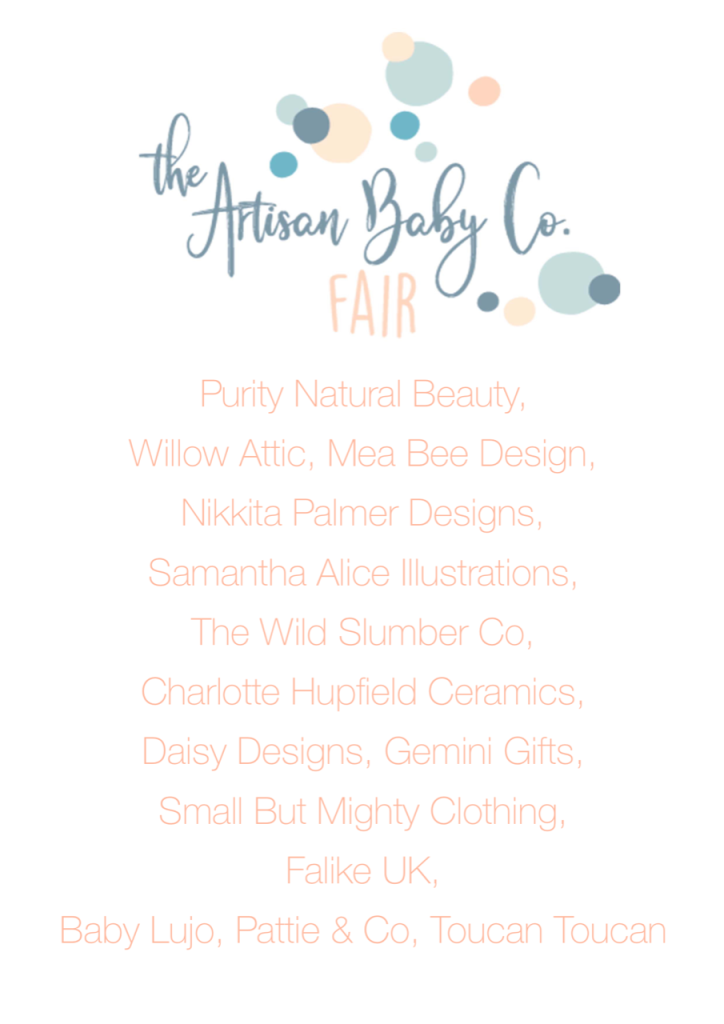 Retailers at The Artisan Baby Co Fair Northampton