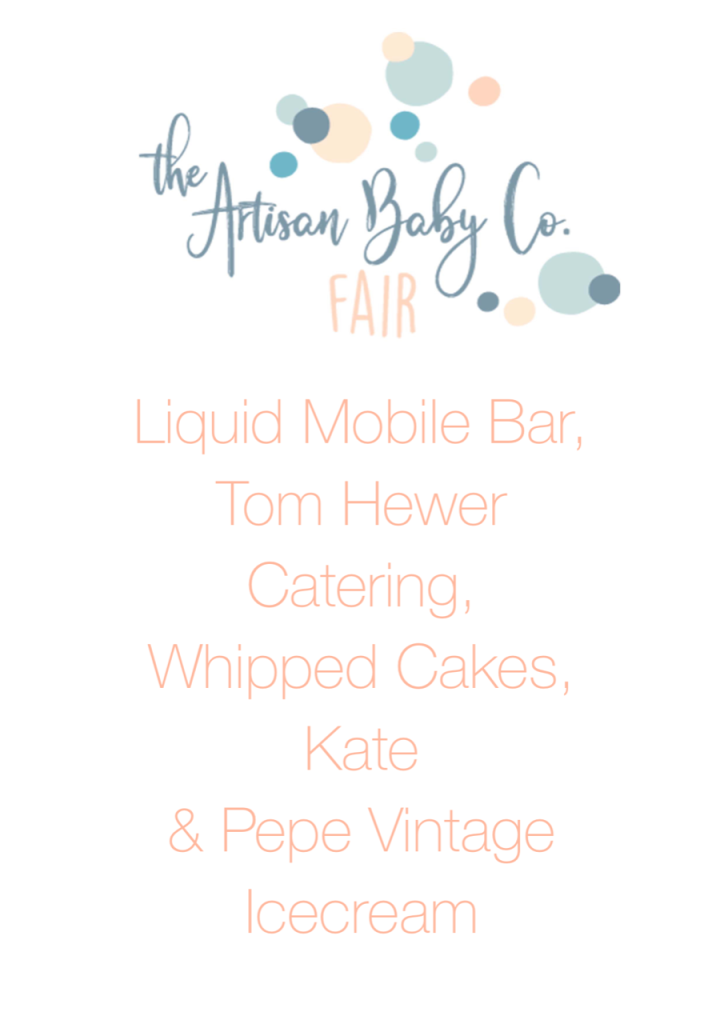 Food Offering at The Artisan Baby Co Fair Northampton