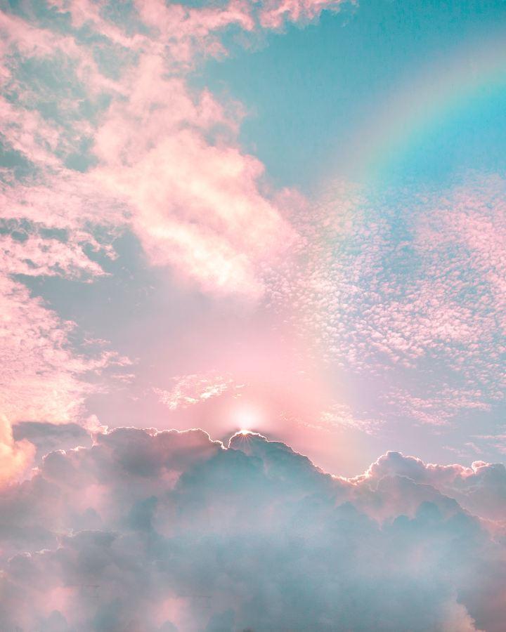 Rainbows for rainbow babies