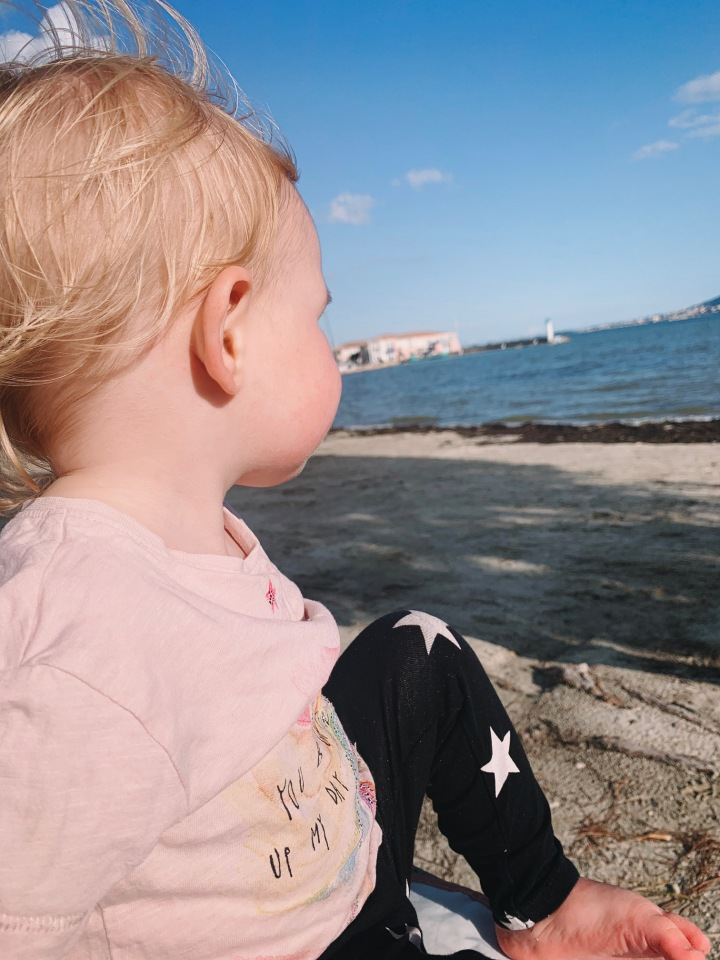 A toddlers adventure in The South of France